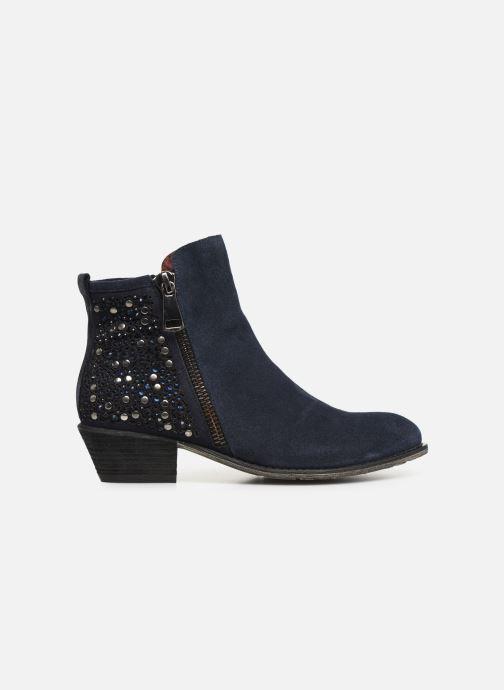 Bottines et boots Laura Vita Clemence 07 Bleu vue derrière