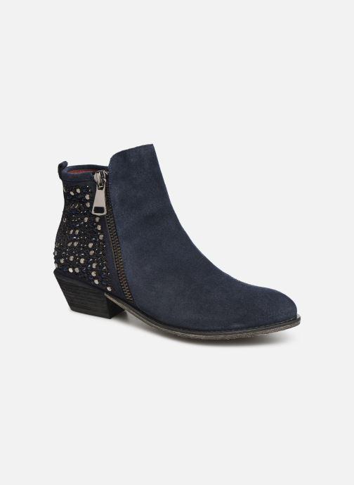 Bottines et boots Laura Vita Clemence 07 Bleu vue détail/paire