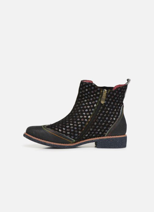 Ankle boots Laura Vita Coralie 068 Black front view
