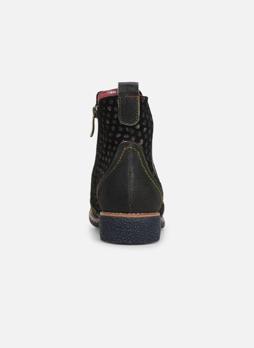 Ankle boots Laura Vita Coralie 068 Black view from the right