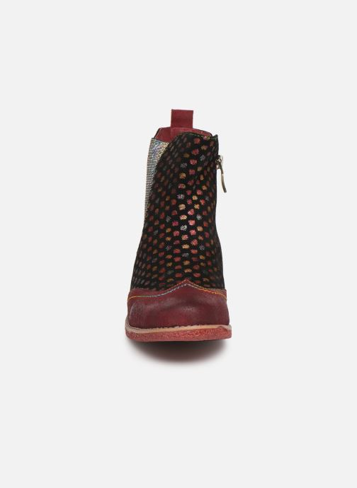 Ankle boots Laura Vita Coralie 068 Red model view