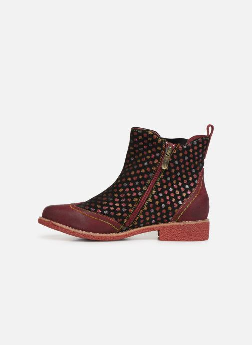 Ankle boots Laura Vita Coralie 068 Red front view