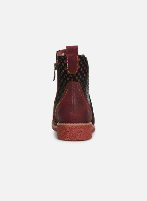 Ankle boots Laura Vita Coralie 068 Red view from the right