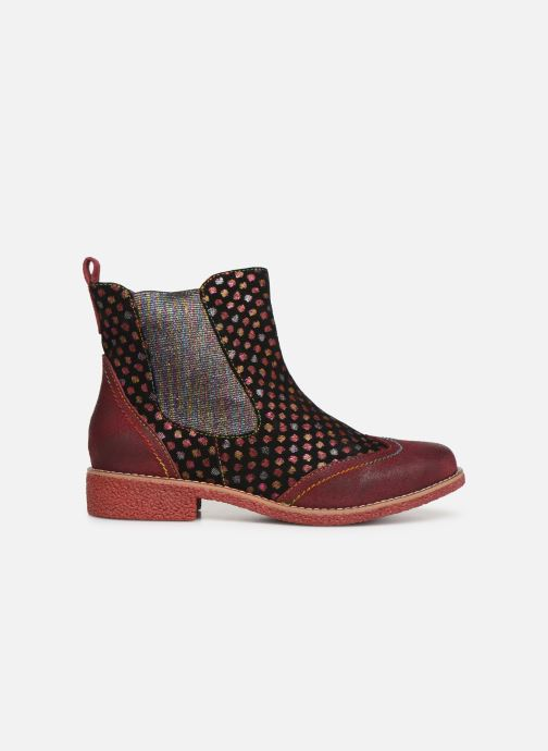 Ankle boots Laura Vita Coralie 068 Red back view