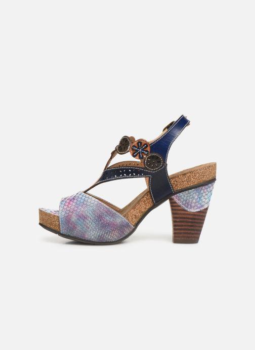 Sandali e scarpe aperte Laura Vita Dacisyo 21 Azzurro immagine frontale