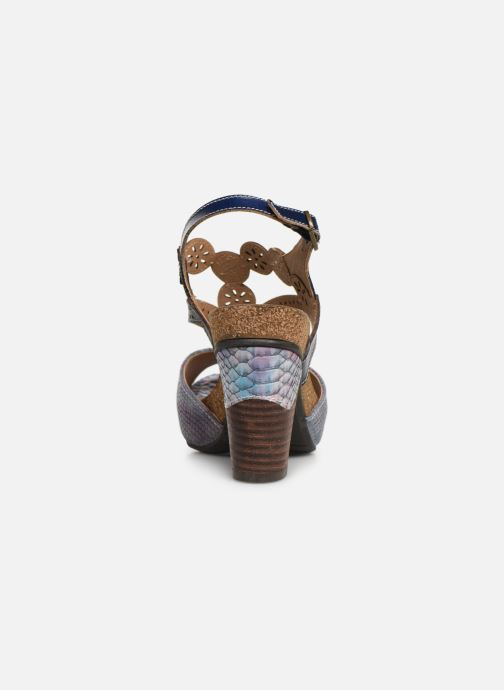 Sandali e scarpe aperte Laura Vita Dacisyo 21 Azzurro immagine destra