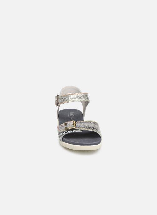 Sandales et nu-pieds Laura Vita Docbbyo 0391 Argent vue portées chaussures