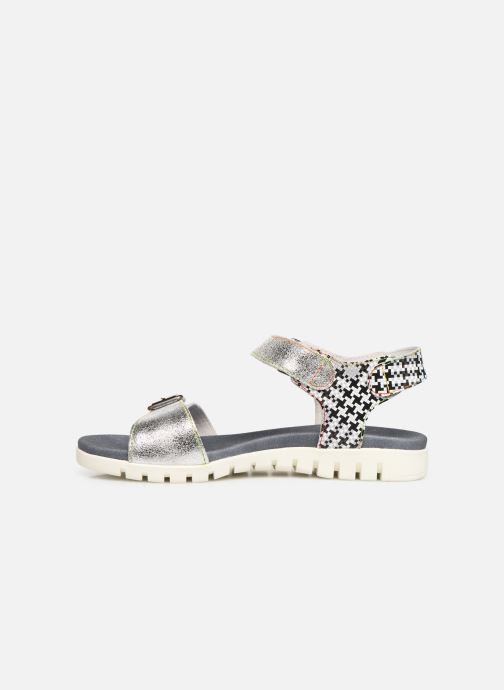 Sandales et nu-pieds Laura Vita Docbbyo 0391 Argent vue face