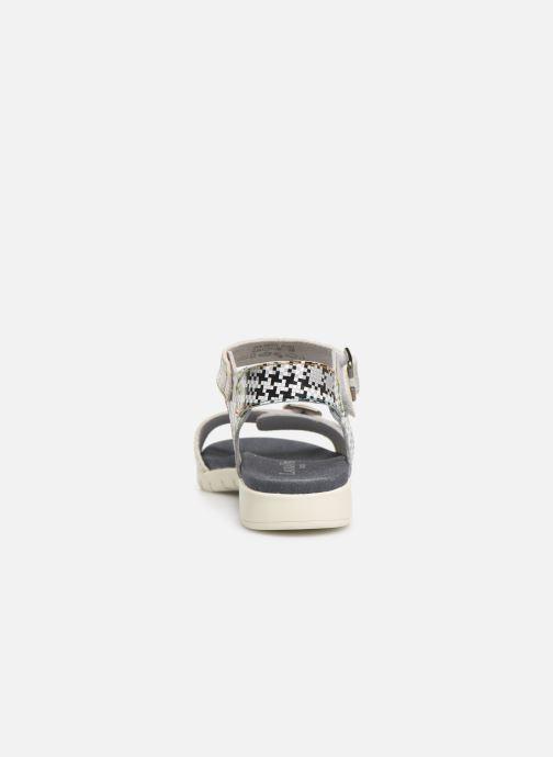 Sandales et nu-pieds Laura Vita Docbbyo 0391 Argent vue droite