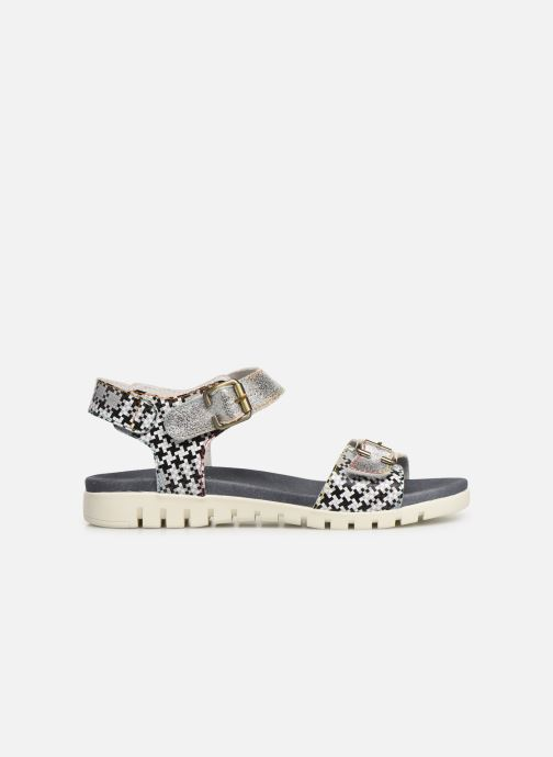 Sandales et nu-pieds Laura Vita Docbbyo 0391 Argent vue derrière