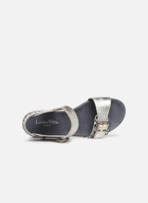 Sandales et nu-pieds Laura Vita Docbbyo 0391 Argent vue gauche