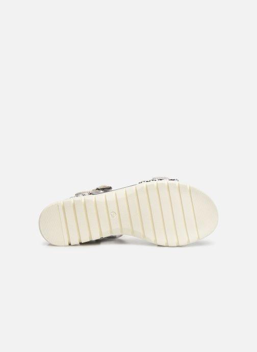 Sandales et nu-pieds Laura Vita Docbbyo 0391 Argent vue haut