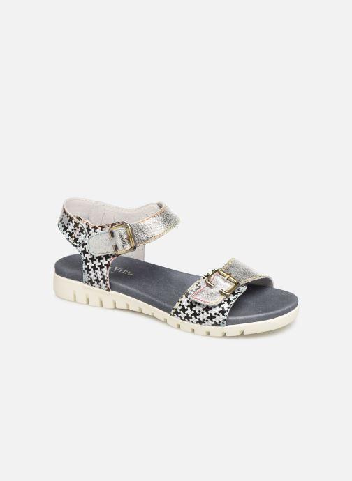 Sandaler Laura Vita Docbbyo 0391 Sølv detaljeret billede af skoene