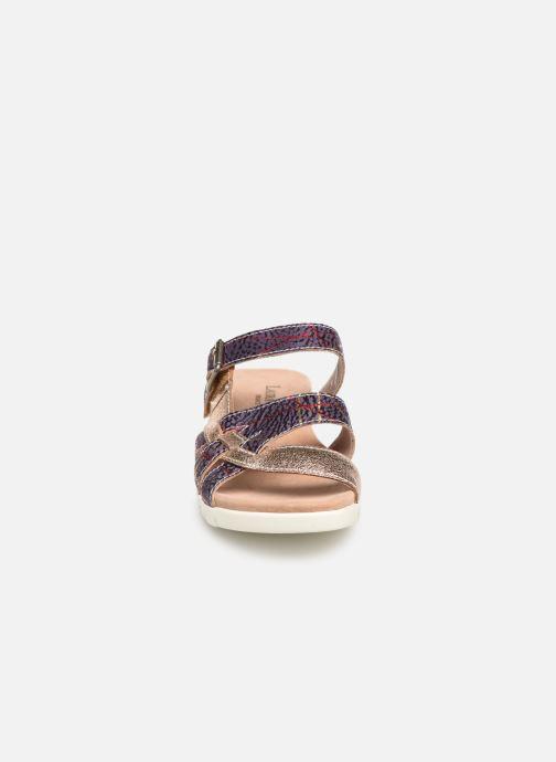Mules et sabots Laura Vita Docbbyo 059 Bordeaux vue portées chaussures