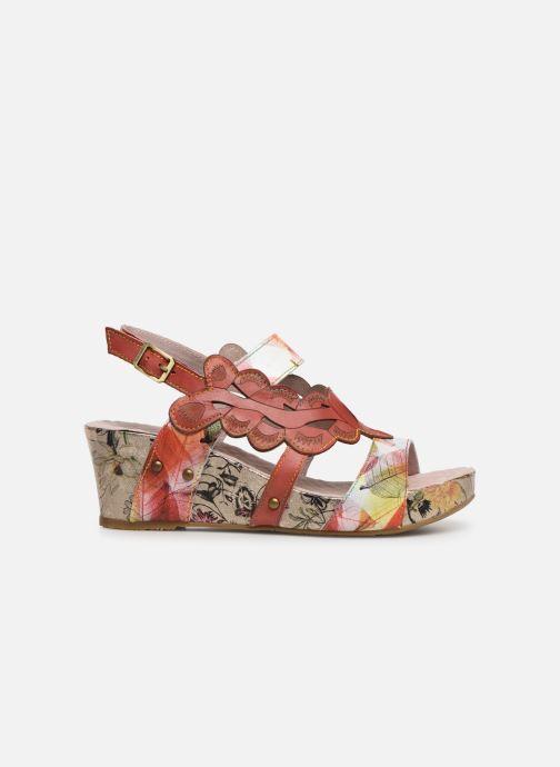 Sandales et nu-pieds Laura Vita Facdiao 03 Rouge vue derrière