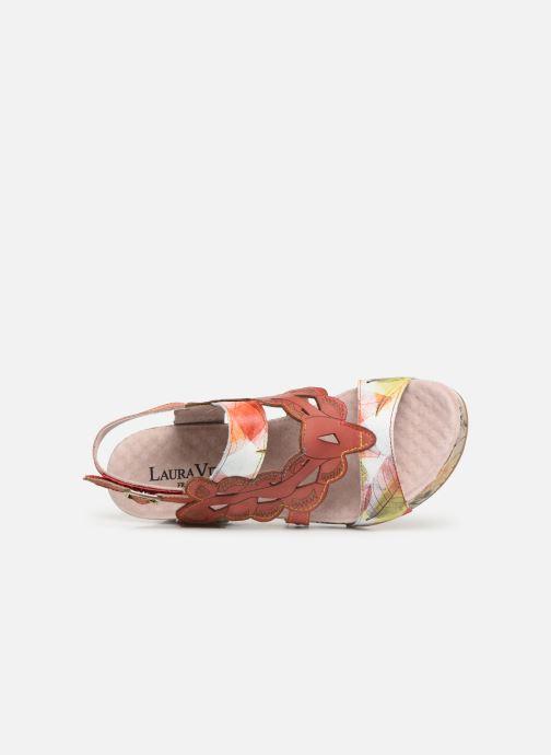Sandales et nu-pieds Laura Vita Facdiao 03 Rouge vue gauche