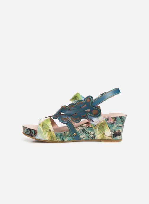 Sandales et nu-pieds Laura Vita Facdiao 03 Bleu vue face