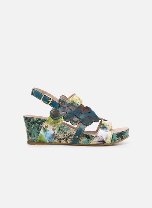 Sandales et nu-pieds Laura Vita Facdiao 03 Bleu vue derrière