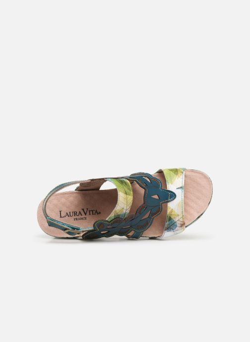 Sandali e scarpe aperte Laura Vita Facdiao 03 Azzurro immagine sinistra