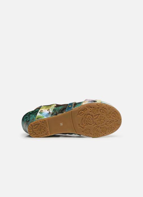 Sandales et nu-pieds Laura Vita Facdiao 03 Bleu vue haut
