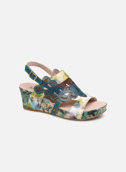 Sandales et nu-pieds Laura Vita Facdiao 03 Bleu vue détail/paire