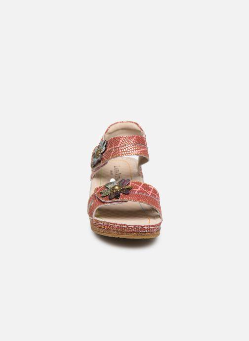 Sandales et nu-pieds Laura Vita Facraho 01 Rouge vue portées chaussures