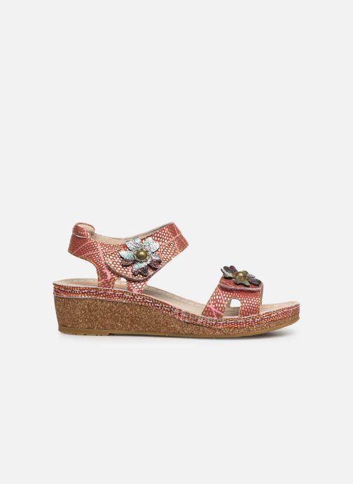 Sandales et nu-pieds Laura Vita Facraho 01 Rouge vue derrière