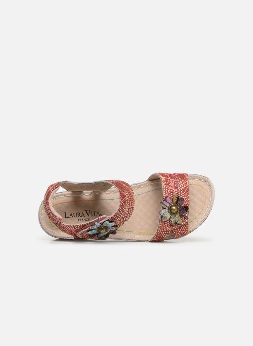 Sandales et nu-pieds Laura Vita Facraho 01 Rouge vue gauche