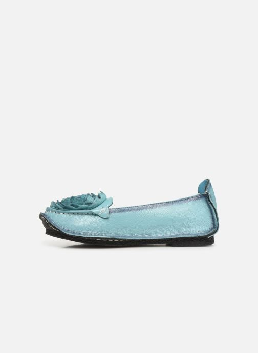 Ballet pumps Laura Vita Viviane Blue front view