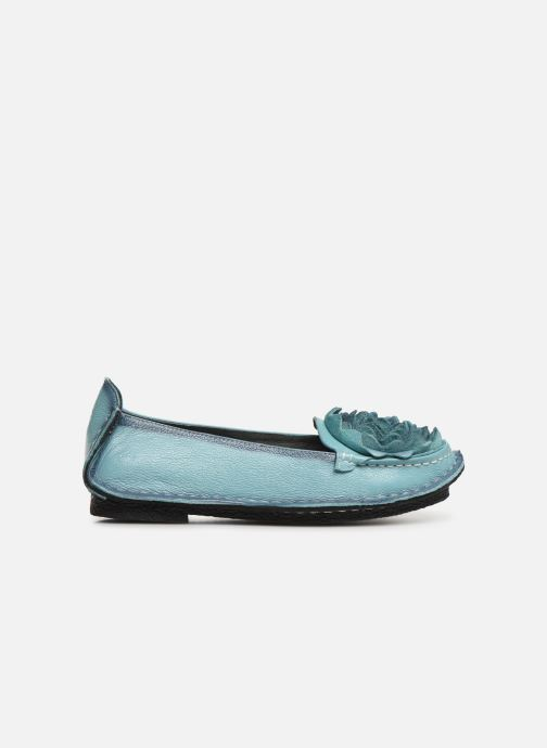 Ballet pumps Laura Vita Viviane Blue back view