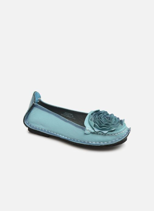 Ballet pumps Laura Vita Viviane Blue detailed view/ Pair view
