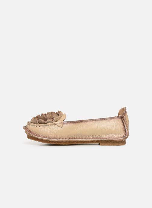Ballet pumps Laura Vita Viviane Bronze and Gold front view