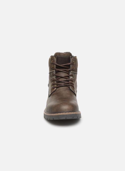Bottines et boots I Love Shoes KEATON Marron vue portées chaussures