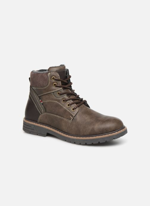 Bottines et boots I Love Shoes KEATON Marron vue détail/paire
