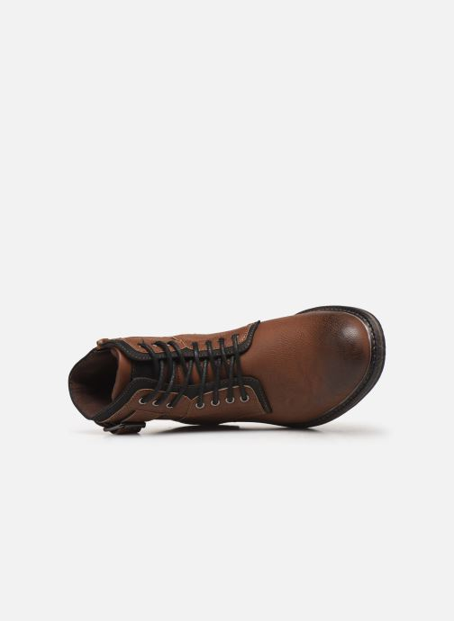 Boots en enkellaarsjes I Love Shoes KERANO Bruin links