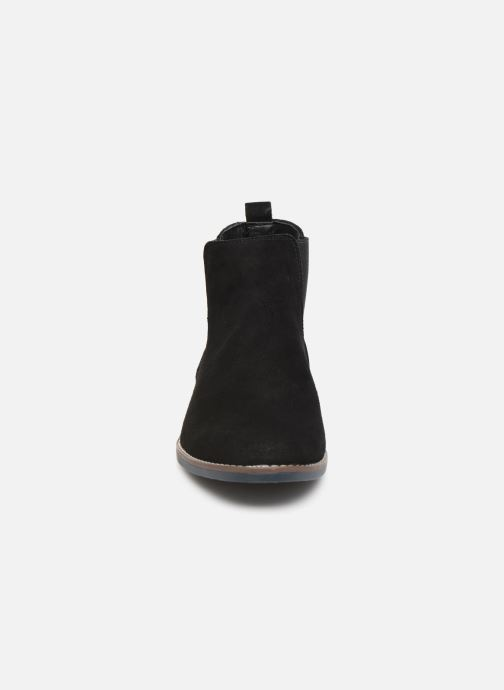 Stivaletti e tronchetti I Love Shoes KENTARO LEATHER Nero modello indossato