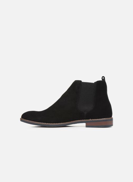 Ankelstøvler I Love Shoes KENTARO LEATHER Sort se forfra