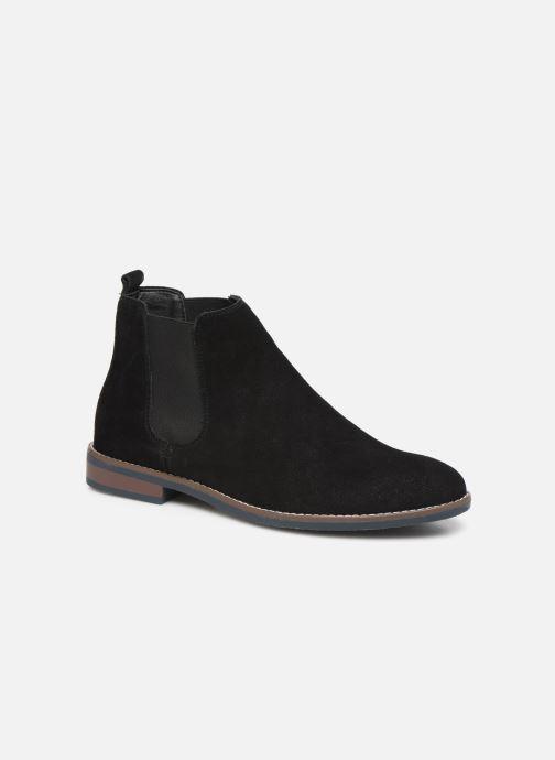 Ankelstøvler I Love Shoes KENTARO LEATHER Sort detaljeret billede af skoene