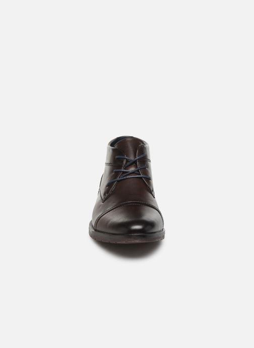 Stivaletti e tronchetti I Love Shoes KEPHREN Marrone modello indossato