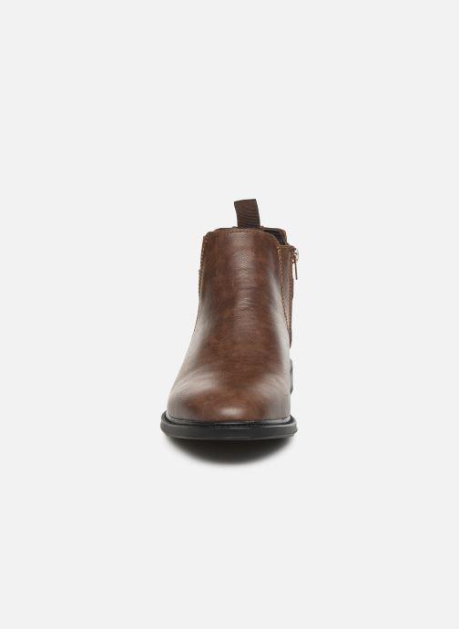 Stivaletti e tronchetti I Love Shoes KENSY Marrone modello indossato