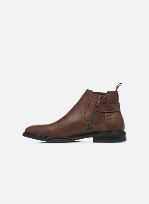 Ankle boots I Love Shoes KENSY Brown front view