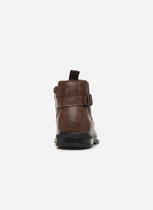 Ankle boots I Love Shoes KENSY Brown view from the right