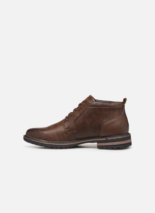 Boots en enkellaarsjes I Love Shoes KEYDEN Bruin voorkant