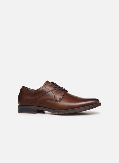 Schnürschuhe I Love Shoes KEMIS braun ansicht von hinten