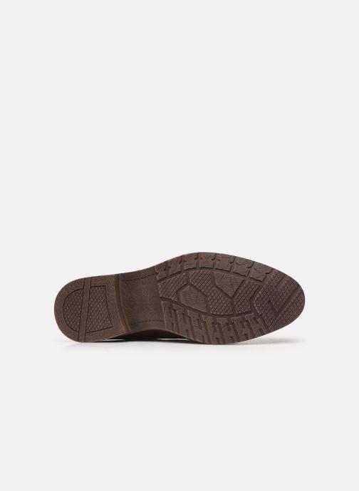 Schnürschuhe I Love Shoes KEMIS braun ansicht von oben