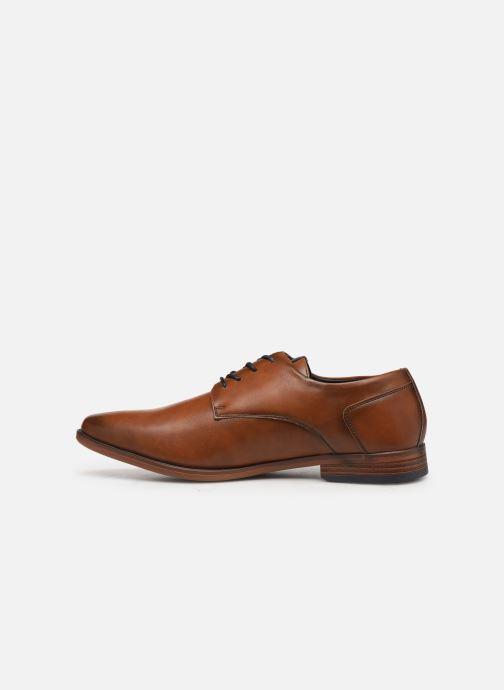 Scarpe con lacci I Love Shoes KERBY Marrone immagine frontale