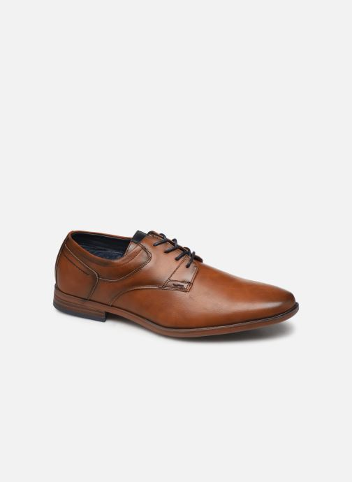 Lace-up shoes I Love Shoes KERBY Brown detailed view/ Pair view