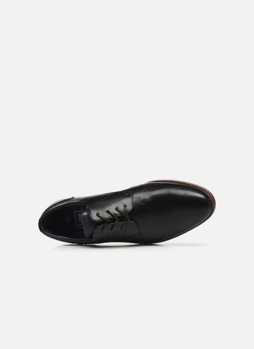 Scarpe con lacci I Love Shoes KERBY Nero immagine sinistra