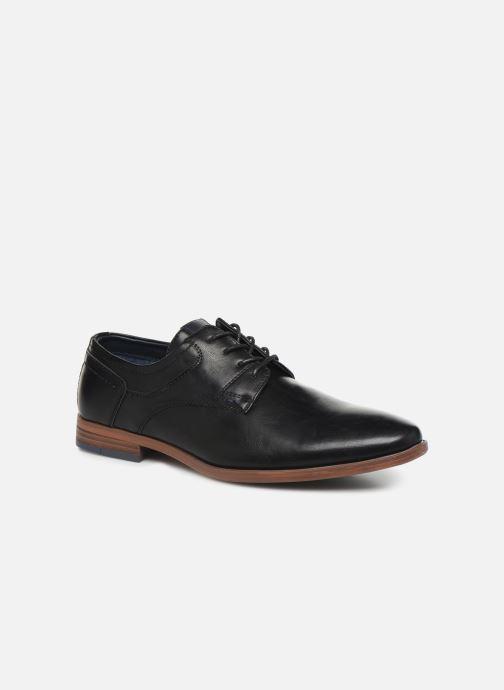 Chaussures à lacets I Love Shoes KERBY Noir vue détail/paire