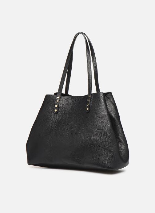 Handtassen Georgia Rose Ubago Leather Zwart model